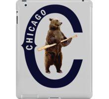 Bear with Bat iPad Case/Skin