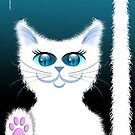 SNOWBELL THE CAT by peter chebatte
