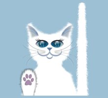 SNOWBELL THE CAT Kids Tee
