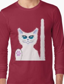 SNOWBELL THE CAT Long Sleeve T-Shirt