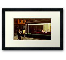 Hopper on Hopper Framed Print
