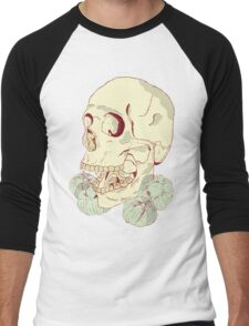 Vampire Skull Men's Baseball ¾ T-Shirt