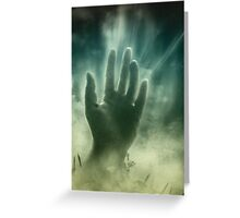 Dead Hand Greeting Card