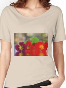Three Nasturtiums Women's Relaxed Fit T-Shirt