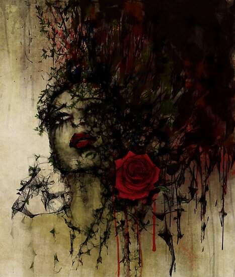 To be a rose .. by artsmitten