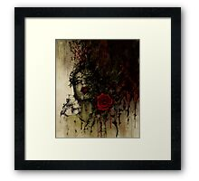To be a rose .. Framed Print