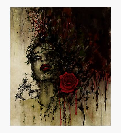 To be a rose .. Photographic Print