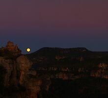 Siurana Moon by Emma Holmes