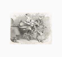 Victorian Christmas Pudding Taking 1848 Unisex T-Shirt