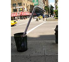 fun marketing in a street of NYC! Photographic Print