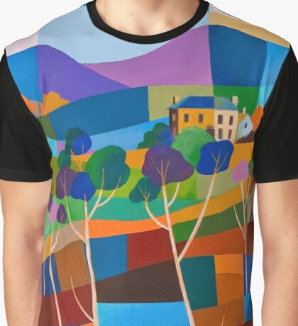 RICHMOND VIEW II, TASMANIA Graphic T-Shirt