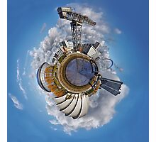 Planet Glasgow Photographic Print