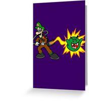 Luigi's Boo-Busters Greeting Card