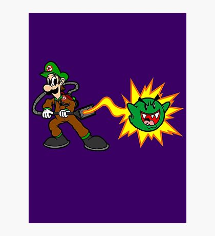 Luigi's Boo-Busters Photographic Print