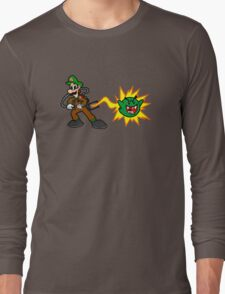 Luigi's Boo-Busters Long Sleeve T-Shirt