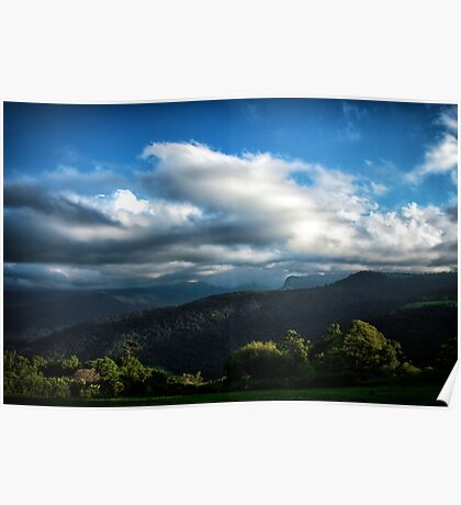 Clouds Over Numinbah Poster