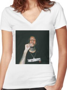 Chris Travis Women's Fitted V-Neck T-Shirt