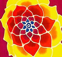 SOULFLOWER - Meditation Chakra Flower Art  by GeminiMoon