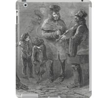 The Victorian Christmas Waits 1848 iPad Case/Skin