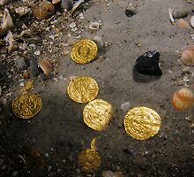 Scuba Divers uncover a hoard of 2000 gold coins from the Fatimid period by PhotoStock-Isra