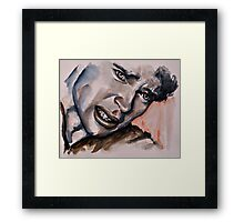 Douleur (Tom Welling) featured in Painters Universe Framed Print
