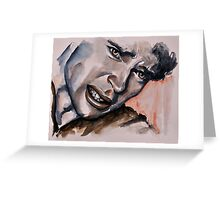 Douleur (Tom Welling) featured in Painters Universe Greeting Card