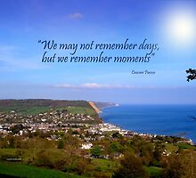 Overview of Sidmouth by Charmiene Maxwell-Batten