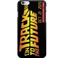 On Track to the Future! iPhone Case/Skin