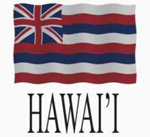 Hawaii state flag Kids Clothes