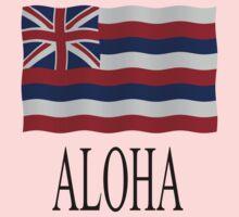 Aloha + Hawai'i flag Kids Clothes