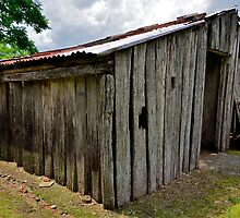 The Old Shed. by Julie  White
