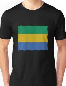 Gabon flag Unisex T-Shirt