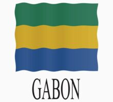Gabon flag Kids Tee