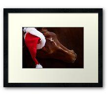 Russet Christmas Framed Print