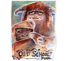 Old School Furries Poster