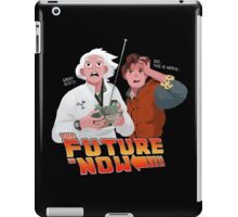 The Future is Now...That's Heavy iPad Case/Skin
