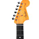 Fender Stratocaster iPhone case by andytechie
