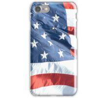 Waving American Flag iPhone Case/Skin