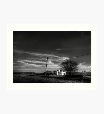 Farm House Art Print