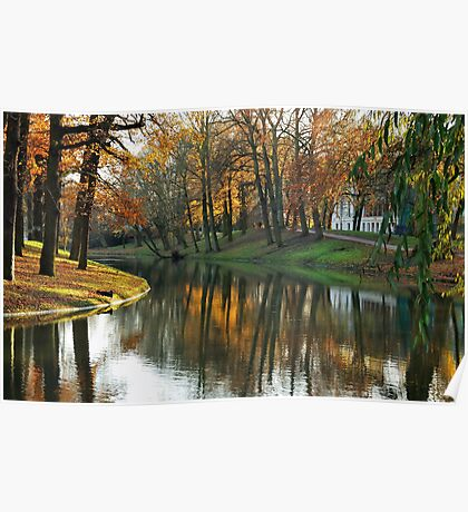 Late autumnal beauty at Utrecht Poster