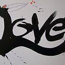 Love-A-love Crow by leunig