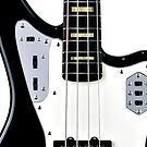 Fender Bass iPhone case 2 by andytechie