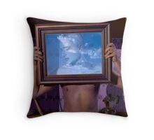 Personal Values (Magritte) Throw Pillow