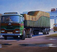 Harris and Miners Guy Big J. by Mike Jeffries