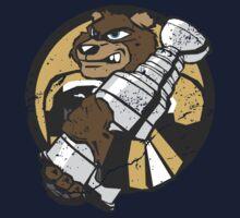 Boston Bruins - Champions! (distressed) Kids Tee