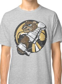 Boston Bruins - Champions! (distressed) Classic T-Shirt