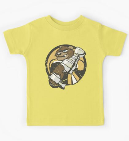 Boston Bruins - Champions! (distressed) Kids Tee