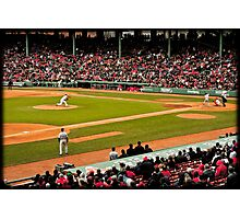 Red Sox game Photographic Print