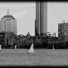 Boat city view by apsjphotography