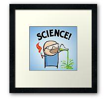 Science nerd  Framed Print